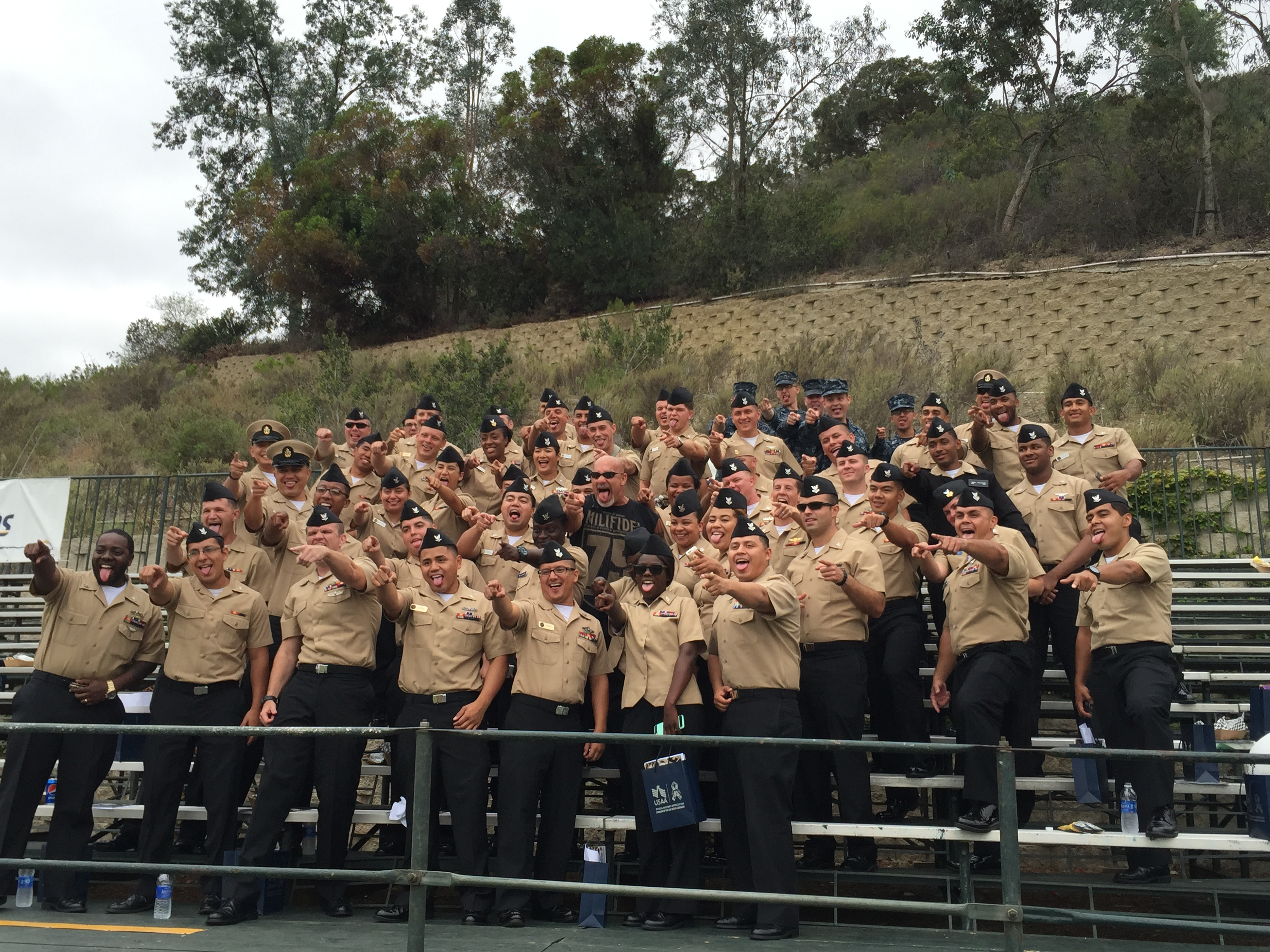 Chargers and Marines
