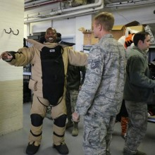 Bengals visit Wright-Patterson AFB