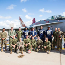 Chargers visit the Marines