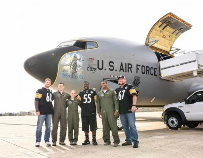 Steelers visit the Air Force